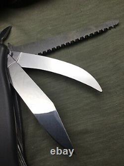 Swiss Army Knife Wenger Ranger 08 Sabla 08 Field Dresser 120mm