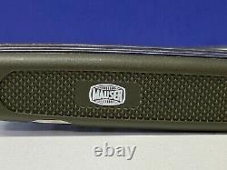 Swiss Army MAUSER Pocket Knife German Military OLIVE 5-Blade VICTORINOX RARE