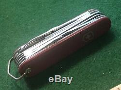 Swiss Army Victoria 1960s Champion B Knife With Bail & Long File Victorinox SAK