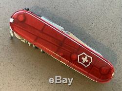 Swiss Army Victorinox Knife Ruby Cybertool Yeoman Custom