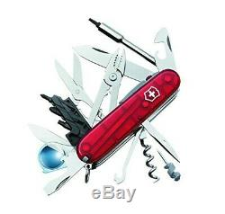 Swiss Army Wenger Cybertool 34 Lite Ruby New SWISS CYBERTOOL Knife NIB Bundle