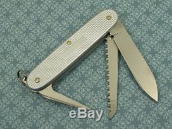 Swiss Bianco Exclusive Victorinox Bushcrafter Silver Alox Swiss Army Knife