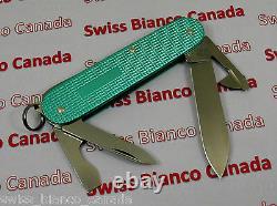 Swiss Bianco Exclusive Victorinox Cadet Turquoise Alox Swiss Army Knife