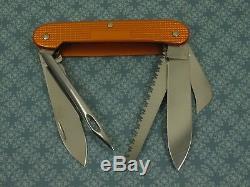 Swiss Bianco Exclusive Victorinox Castaway Orange Alox Swiss Army Knife