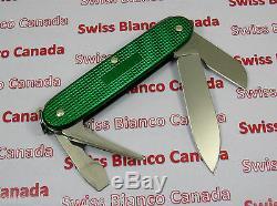 Swiss Bianco Exclusive Victorinox Electrician Kelly Green Alox Swiss Army Knife