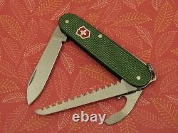 Swiss Bianco Exclusive Victorinox Lumberjack OD Green Alox Swiss Army Knife