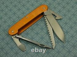 Swiss Bianco Exclusive Victorinox Midshipman Orange Alox Swiss Army Knife