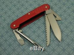 Swiss Bianco Exclusive Victorinox Midshipman Red Alox Swiss Army Knife