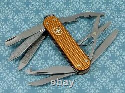 Swiss Bianco Exclusive Victorinox Minichamp Sunset Orange Alox Swiss Army Knife