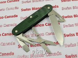 Swiss Bianco Exclusive Victorinox Pioneer X Forest Green Alox Swiss Army Knife