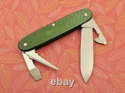 Swiss Bianco Exclusive Victorinox Soldier OD Green Alox Swiss Army Knife