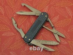 Swiss Bianco Exclusive Victorinox Vagabond Gunmetal Alox Swiss Army Knife