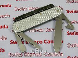 Swiss Bianco Special Victorinox Firesteel Cadet Silver Alox Swiss Army Knife