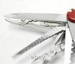 Swiss Fold Army Edc Gear Knife Survive Pocket Camp Outdoor Multiuso Champ Tool