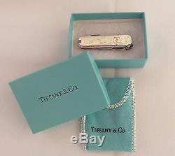 TIFFANY & CO. Sterling silver & gold with unique design pattern Swiss army knife