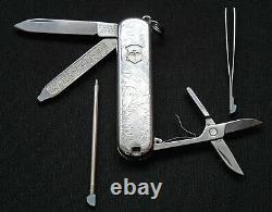 TIFFANY & CO VICTORINOX Swiss Army Knife Sterling Silver 18K fancy design