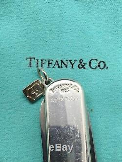 Tiffany And Co. Atlas 2004 Victorinox Swiss Army Knife Sterling Silver 925 Used