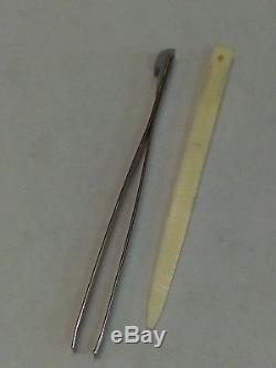 Tiffany & Co Pocket Knife 925 Sterling Silver / 750 Gold / Victorinox Swiss Army