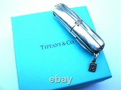 Tiffany & Co. Sterling Silver Streamerica Swiss Army Knife Perfect Gift