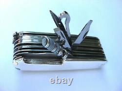 Tiffany & Co. Sterling Silver SwissChamp Swiss Army Knife Perfect Gift