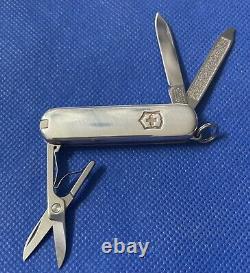 Tiffany & Co Swiss Army Victorinox Sterling Silver. 925 750 18k Multi Tool Knife