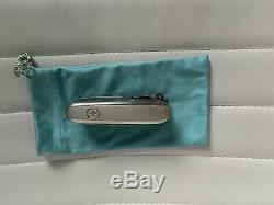 Tiffany & Co. Swiss Champ Swiss Army Knife 18k & sterling silver 925