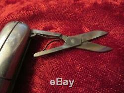 Tiffany Sterling Streamerica Swiss Army Knife Scissors, File & Knife Rare
