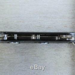 ULTRA RARE! Victorinox Pioneer OLD CROSS Black 1985 Stamped Swiss Army Knife