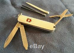 Ulra Rare MOVADO watch Sterling Silver Victorinox Swiss Army Knife SAK Pocket