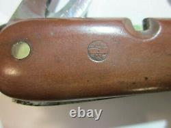 VICTORINOX 1945 P Old Cross Swiss Army Knife Sackmesser Couteau Militaire