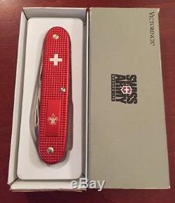 Victorinox Alox Pioneer 1067 Boy Scout Swiss Army Knife Mib