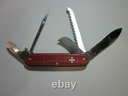VICTORINOX ALOX PIONEER 70 Old Cross Swiss Army Knife Sackmesser Couteau Suiss