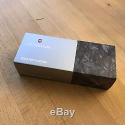 VICTORINOX CYBER TOOL M CARBON Swiss Army Knife Limited 400 Pieces RARE HTF