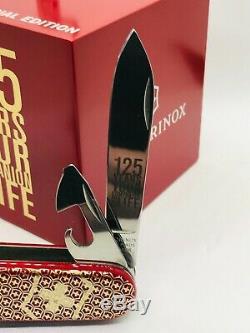 VICTORINOX Climber, DEMO STAND Jubilee 125 years, swiss army knife RARE
