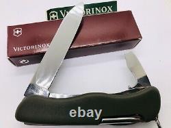 VICTORINOX DAK 1993 RARE KL DUTCH LOGO SWISS ARMY KNIFE OLIVE GREEN 111mm NIB