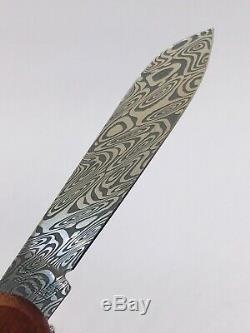 VICTORINOX Damast 2018, neu, OVP, 1.4721. J18 Swiss Army Alox Damascus knife