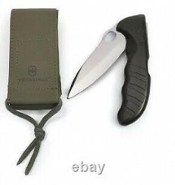 VICTORINOX Hunter Pro Black With Nylon Pouch Swiss Army Knife