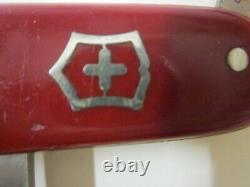 VICTORINOX INOXYD 1940 Old Cross Swiss Army Knife Sackmesser Couteau Militaire