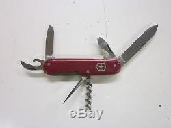 VICTORINOX INOXYD Old Cross Swiss Army Knife Sackmesser Couteau Militaire Suisse