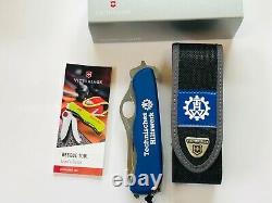 VICTORINOX RESCUE TOOL BLUE HILFSWERK SPECIAL EDITION LOGO Swiss Army knife 180