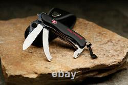 VICTORINOX Rescue Tool BLACK Swiss Army Knife W Cordura Pouch SWITZERLAND NEW