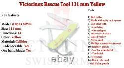 VICTORINOX Rescue Tool / Swiss Army Knife W Cordura Pouch SWITZERLAND NEW