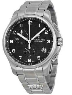 Victorinox Swiss Army Mens Watch 241592.1 Chronograph + Pocket Knife Special Ed