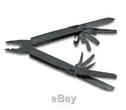 VICTORINOX Swiss Army Knife Swisstool BS Blackened Multitool 3.0323.3CN 35227
