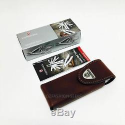 VICTORINOX Swiss Tool Swisstool Spirit X Leather Pouch 3.0224. L 35265 PI