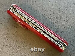 VINTAGE (1974-2007) SWISS ARMY VICTORINOX POCKET KNIFE 91mm TIME KEEPER