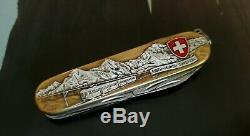 VTG OriginalVictorinox Swiss Army Knife Special Edition Eiger Monch Jungfrau NIB