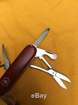 Very Rare Victorinox Swiss Army Knife 84mm Alumnus