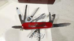 Victorinox 1884 to 1984 BOXED NUMBERED Set Swiss Army Knife #05568