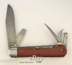 Victorinox 1940 Swiss Army Soldier knife- used, Elsener Schwyz vintage #7592